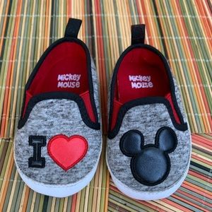 DISNEY | MICKEY MOUSE | I LOVE YOU | BABY SHOES